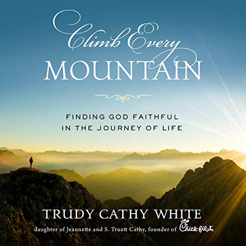 Climb Every Mountain audiobook cover art