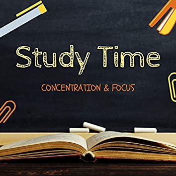 Study Time: Relaxing Piano Music, Nature Sounds, Alpha Waves, Concentration & Focus