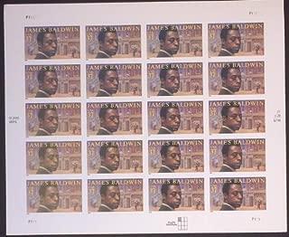 Scott # 3871 US Stamp MNH Sheet James Baldwin 37 Cent FV $7.40