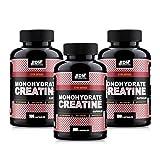 BodyDaddyMake (BDM) Creatine Monohydrate Capsules - 100 - [Combo Pack of 3]