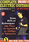 Complete Electric Guitars Vol.2 Rebillard CD Tab par Rébillard