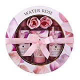 Accentra Water Rose - Set De Regalo De 5 Piezas Para Mujer, En Caja De Regalo, Rosa Y Blanco