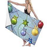 zhengshaolongG Toalla de baño Beach Towels Christmas Bath Towels For Teen Girls Adults Travel Towel Washcloth 31x51 Inches