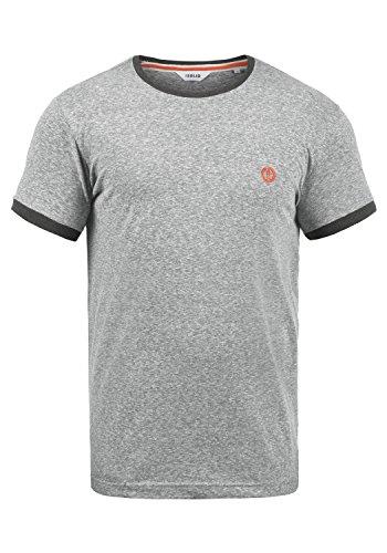 !Solid BennTee Herren T-Shirt Kurzarm Shirt Mit Rundhalsausschnitt Aus 100{0198a23daf5bff25e3c375350252feb4758f1c69bcc12c343abb4844057a2a45} Baumwolle, Größe:M, Farbe:Grey Melange (8236)