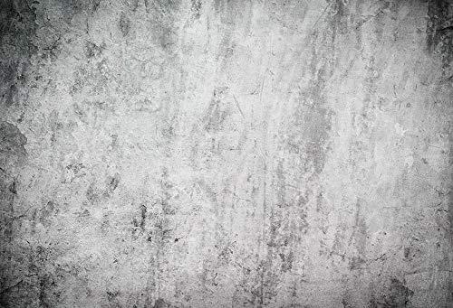 Fondo de fotografía Piso de Pared de Cemento Fiesta Gris ladrillo Retrato de niño telón de Fondo fotófono photocall Estudio fotográfico A7 10x10ft / 3x3m