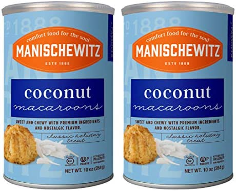 Manischewitz Macaroons Coconut 10 Ounce 2 Pack product image
