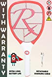 Weird Wolf Rechargeable High Range Mosquito Racquet Bat with Warranty(Multicolour)