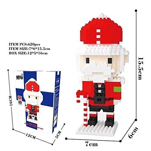 Zenghh Miniatur-Block Polizei Nussknacker Infanteristen Verschiedene Arten 3D-Modell Block-Ziegelstein-Set Nano zusammenbauen Puzzleteil Spielzeug DIY Lernspielzeug Brettspiel Geburtstags-Geschenk