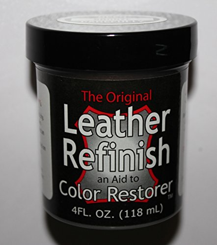 Black - Leather Refinish an Aid to Color Restorer