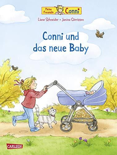 Conni-Bilderbücher: Conni und das neue Baby (Neuausgabe): Bilderbuch über Geschwisterchen für Kinder ab 3