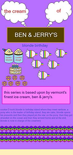 the cream of Ben & Jerry's: blonde birthday (English Edition)