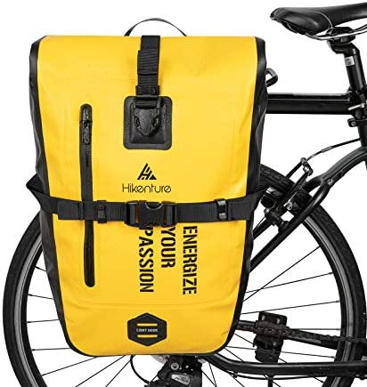 Hikenture Bike Panniers Saddle Bag 27L Waterproof Bicycle Rear Rack Bag Commuter Backpack Laptop product image