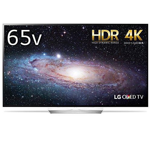 LG 65V型 有機EL テレビ OLED65B7P 4K HDR対応 外付けHDD録画対応(裏番組録画)