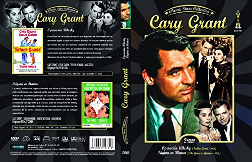 Cary Grant Operación Whisky (Father Goose 1971) + Pagina en Blanco (The Grass is Greener 1960) [DVD]