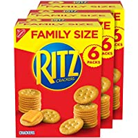 3-Pack RITZ Original Crackers Family Size Boxes