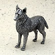 product image for DANFORTH - German Shepherd - Pewter Figurine - 2 1/4 Inches - Handcrafted - Made in USA