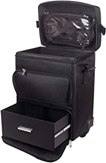 WSJTT. حقيبة أدوات الزينة مع خطاف تعليق، منظم لملحقات السفر، المكياج، الشامبو، مستحضرات التجميل، الأشياء الشخصية، تخزين ال...