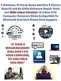 Get 1 Windows 10 Pro & Home Plus 1 Hiren's Boot PE x64...
