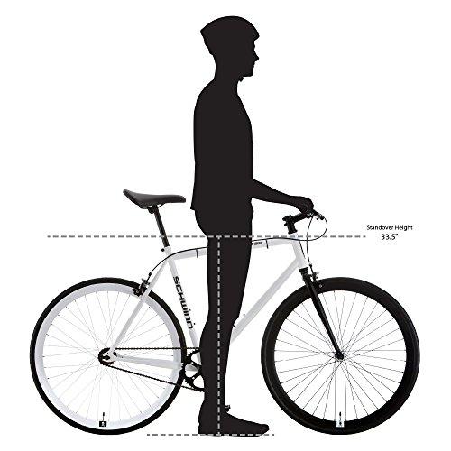 51jmezDMiZL。 SL500 Schwinn Discover Hybrid Bike for Men and Women