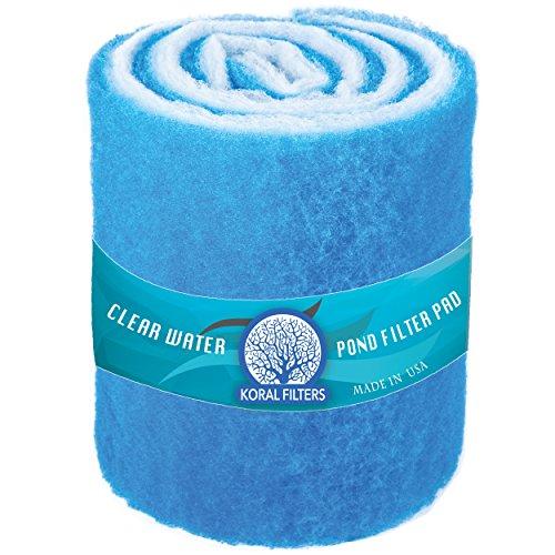 Koral Filters PRO (1.25) Koi Pond Parent - Blue & Dye-Free (12 ft roll, Blue)