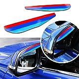 3Farbe Auto Styling Regen Augenbrauen Rear View Seite Spiegel Shield für GTI, VII Mk7