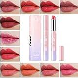Nuevo Velvet Lipsticks Hidratante Taza antiadherente Impermeable Larga duración Hidratante Mate Lápiz labial Brillo labial para mujeres Cosmética Maquillaje de belleza