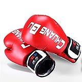 Color : Red GKKXUE Sanda Guantes de Boxeo con Almohadillas de Mano Almohadilla de Objetivo m Muay Thai Kick Focus Punch Almohadilla Karate Taekwondo Guante de Espuma Boxeador Entrenamiento