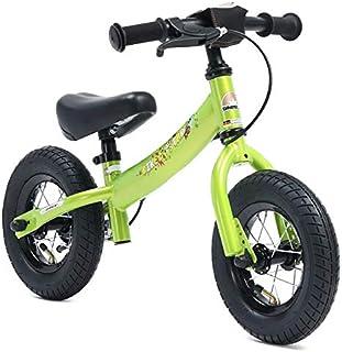 comprar comparacion Bikestar Bicicleta de equilibrio para niños de 2 años con neumáticos de aire y frenos | 10 pulgadas Sport Edition | verde ...