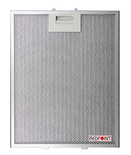 REDPOINT® Aluminiumfilter für Dunstabzugshauben mm 250 x 311 x 8 anpassbar Bosch 00353110/353110