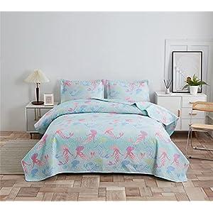 51jmgxyibPL._SS300_ Mermaid Bedding Sets & Comforter Sets