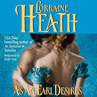 As an Earl Desires audiobook cover art