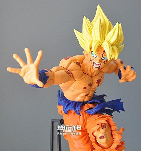 Top Top Dragon Ball Z scultures Tenkaichi 5 Super Saiyan son goku en PVC figurine