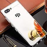 BlackBerry KEY2 Mirror Shell, Shiny Awesome Make-up Mirror