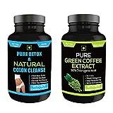 Perennial Lifesciences Detox and Natural Colon Cleanse All Laxative Supplement - 60 Veg
