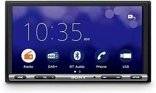 Sony XAV-3550D Auto-speler (WebLink, Bluetooth en NFC, 7 inch touchscreen, niet-verblindend, DAB+, compatibel met Android/...