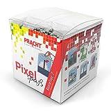 Set de manualidades Pixel Diversión 7, para crear 6 medallones, llavero, para niños, niños y niñas, ideal como pequeño regalo, obsequio, para cumpleaños infantiles , color/modelo surtido