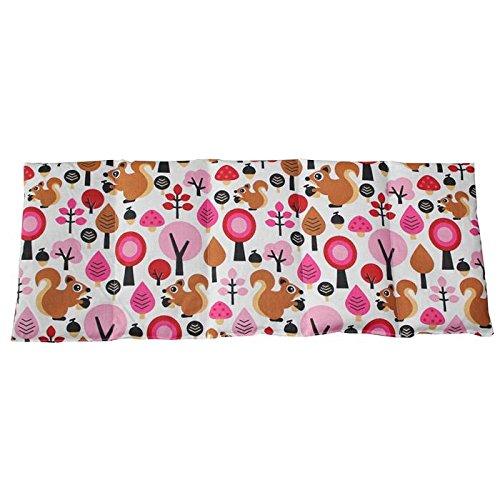 Kirschkernkissen 50x20cm Wald pink Wärme + Kältetherapie Körnerkissen 100{116fdcea93ab59517e0a1e43e2902528a08b8bdbbb60d76c77cdb3637379570e} Baumwolle