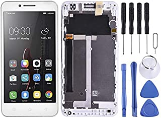 SHUHAN LCD Screen Phone Repair Part LCD Screen and Digitizer Full Assembly with Frame for Lenovo Vibe C A2020 A2020a40 Mob...