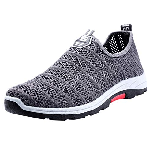 SANFASHION Herren Sportschuhe Outdoor Fitnessschuhe Atmungsaktive Mesh Breathable Schuhe Outdoor Sport Walkingschuhe