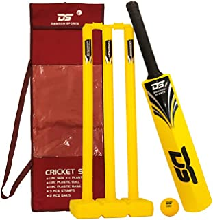 DAWSON SPORTS Unisex Adult Cricket Set - 53005 Yellow, Size 6