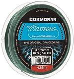 Cormoran Schnur 135 m Spule 0.28 Stärke Corastrong Geflochten aus Coramid, Grün, 32-013528