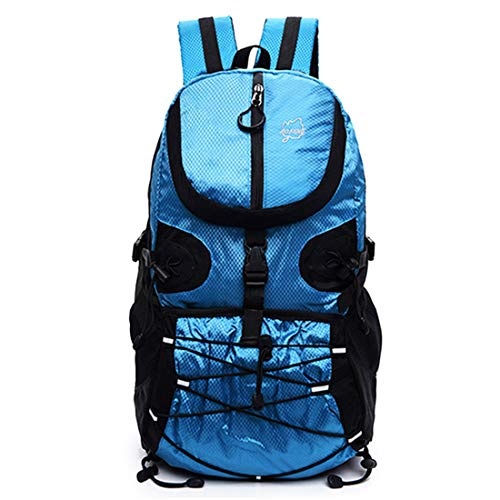 TnXan Outdoor Camping Waterproof Backpack Trekking Rucksacks Waterproof Nylon Rucksack Unisex Mountaineering Hunting Travel Sports Bag 20L Large Capacity