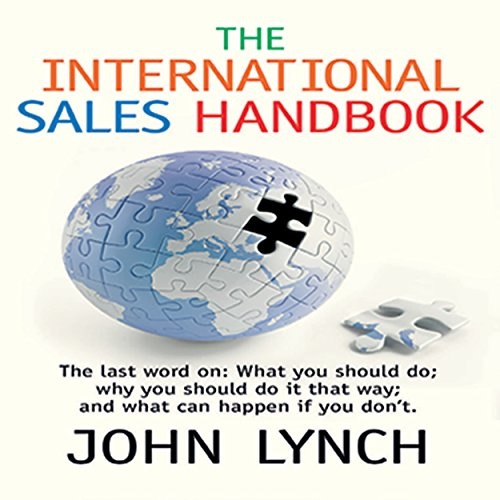 The International Sales Handbook audiobook cover art