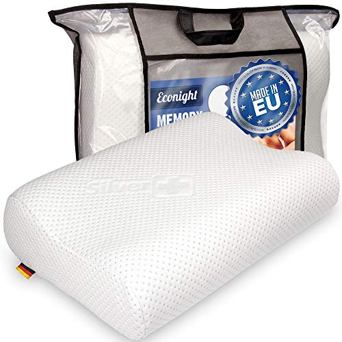 EcoNight - Cuscino in memory foam, antirussamento,...