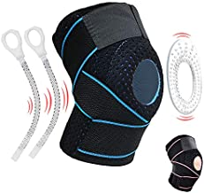 Knee Brace Knee Support for Meniscus Tear,Arthritis,ACL,LCL,MCL Injury Recovery,Running,Cycling,Basketball with Patella Stabilizer for Men Women