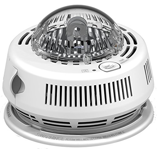 BRK Photoelectric Smoke Alarm With Integrated Strobe Light