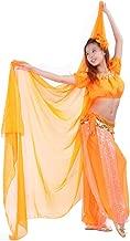 250x120cm (8.2ftx3.9ft) 100% Chiffon Scarf Belly Dance Scarf Throwing Yarn Scarf Shawls Veils