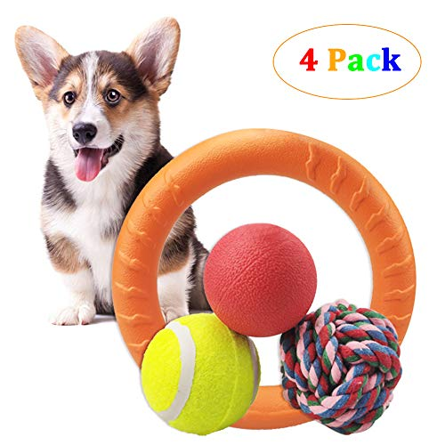 YXFWL 4 PC Dog Pet Ball Toys Set $10.86 (40% Off)