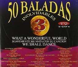 50 Baladas Inolvidables V.3 (3 Cd)