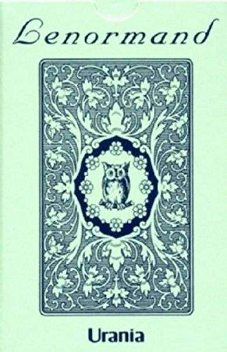 Panotophia Lenormandkarten - Jugendstil Tarotkarten Blaue Eule Bilder